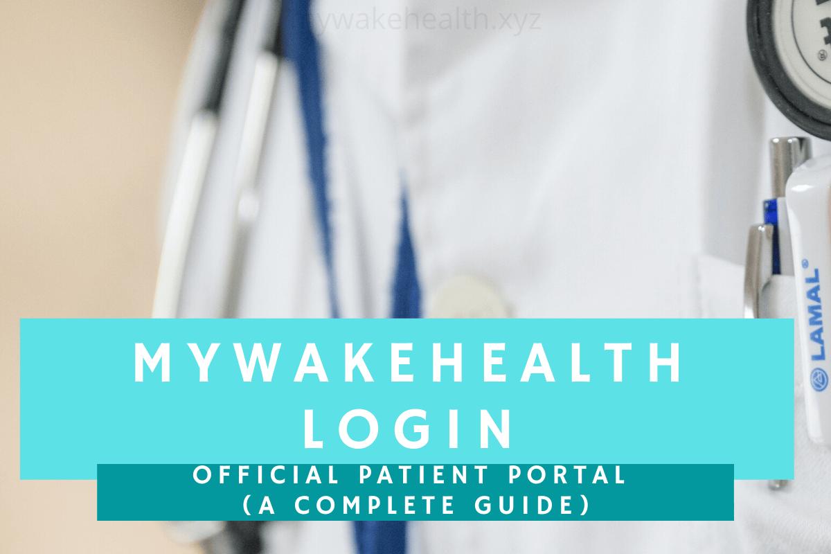 mywakehealth-login