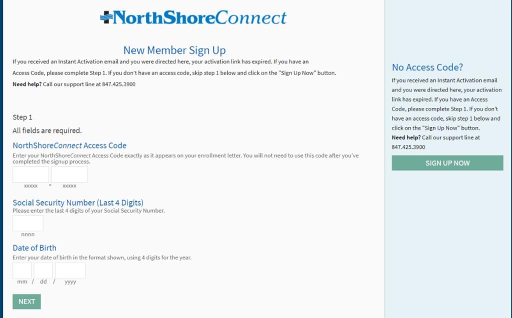northshoreconnect-register